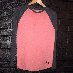 Under Armour baseball tee size small